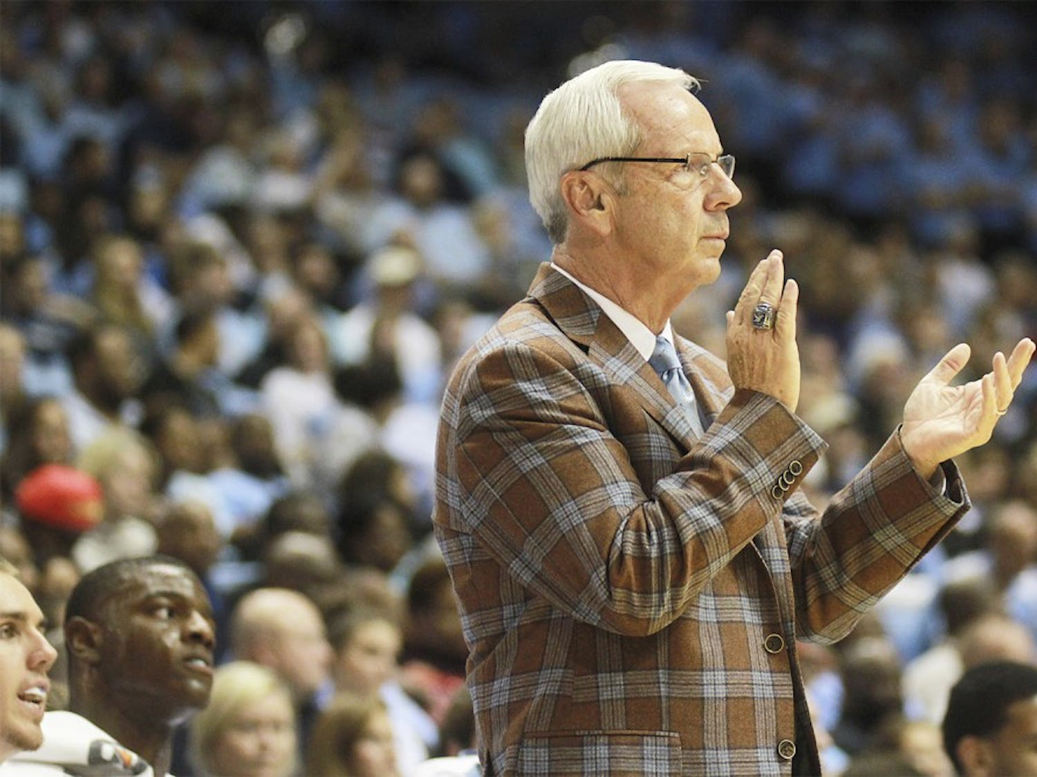 In wake of the recent Wainstein report Roy Williams remained tight-lipped on the matter until after Friday's pre-season match against Fayetteville State.  Williams has coached the team since 2003.