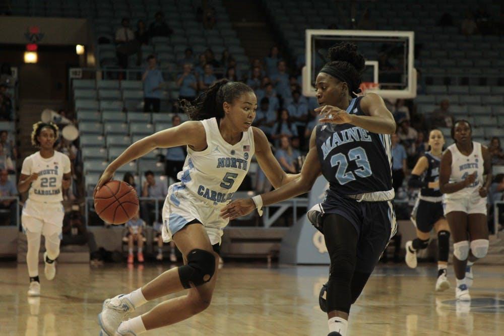UNC women's basketball falls to Auburn, 86-81, in overtime to snap win streak