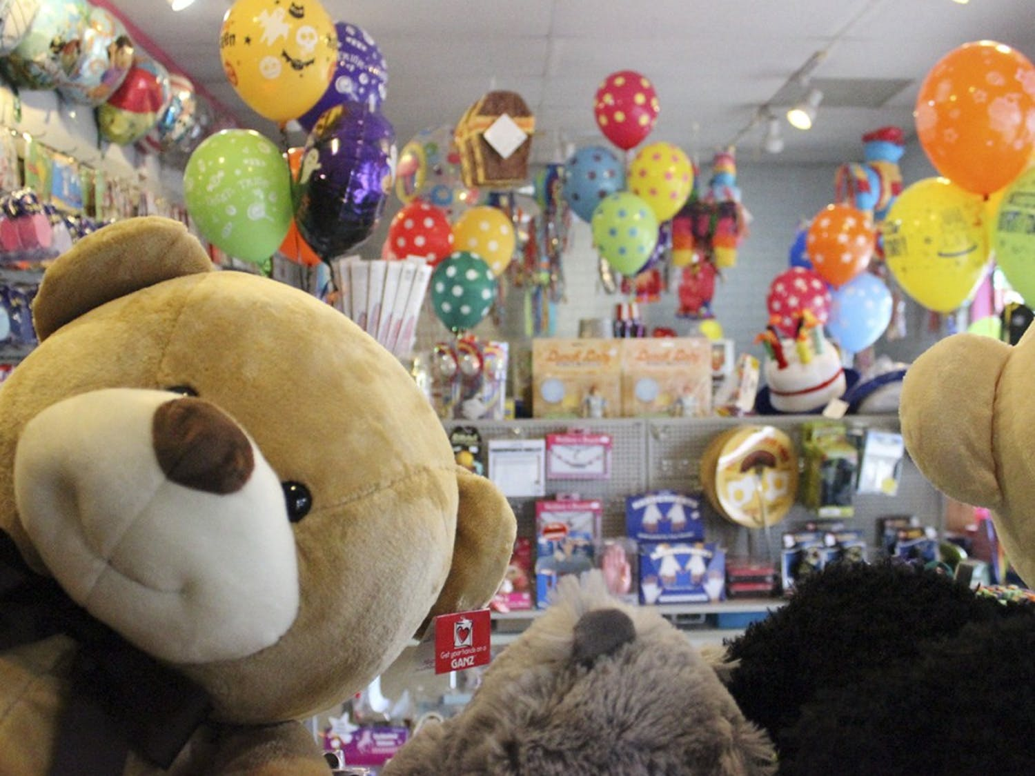 Balloons and Tunes, a balloons, decorations, and gifts store has been operating in Carrboro since 1980.