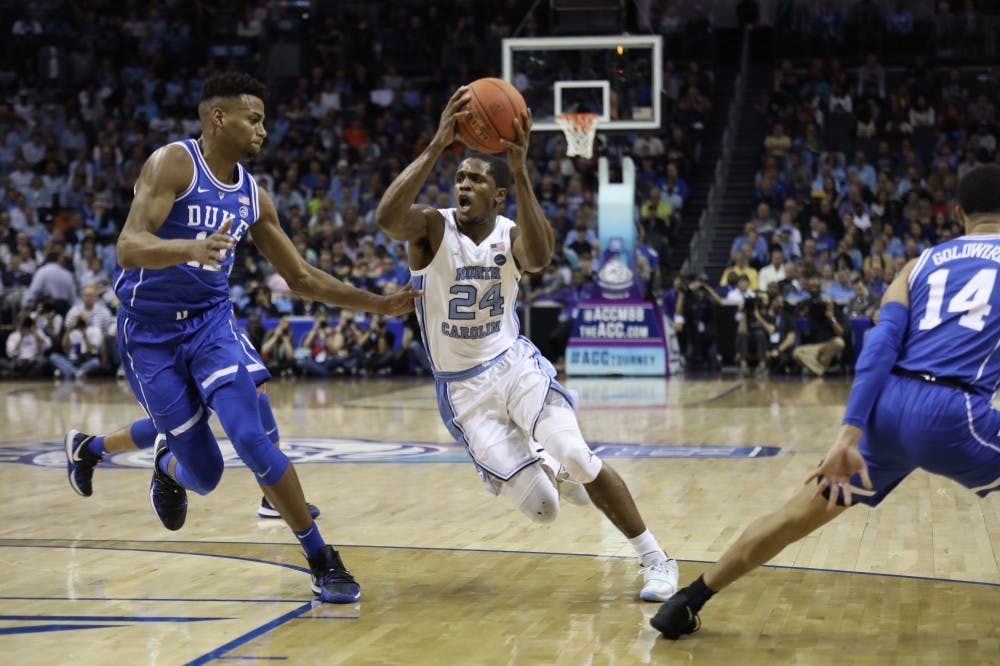 For UNC graduating players, motivation follows loss to Duke in ACC Tournament