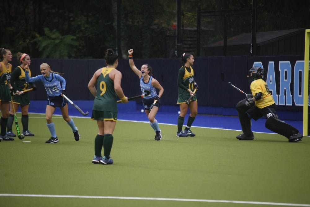Late goal from Creatore completes UNC field hockey's comeback versus Princeton