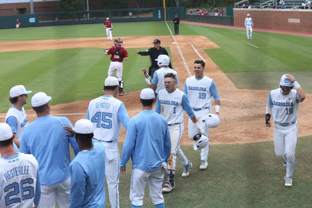 UNC baseball handles Boston College, advances to ACC Championship