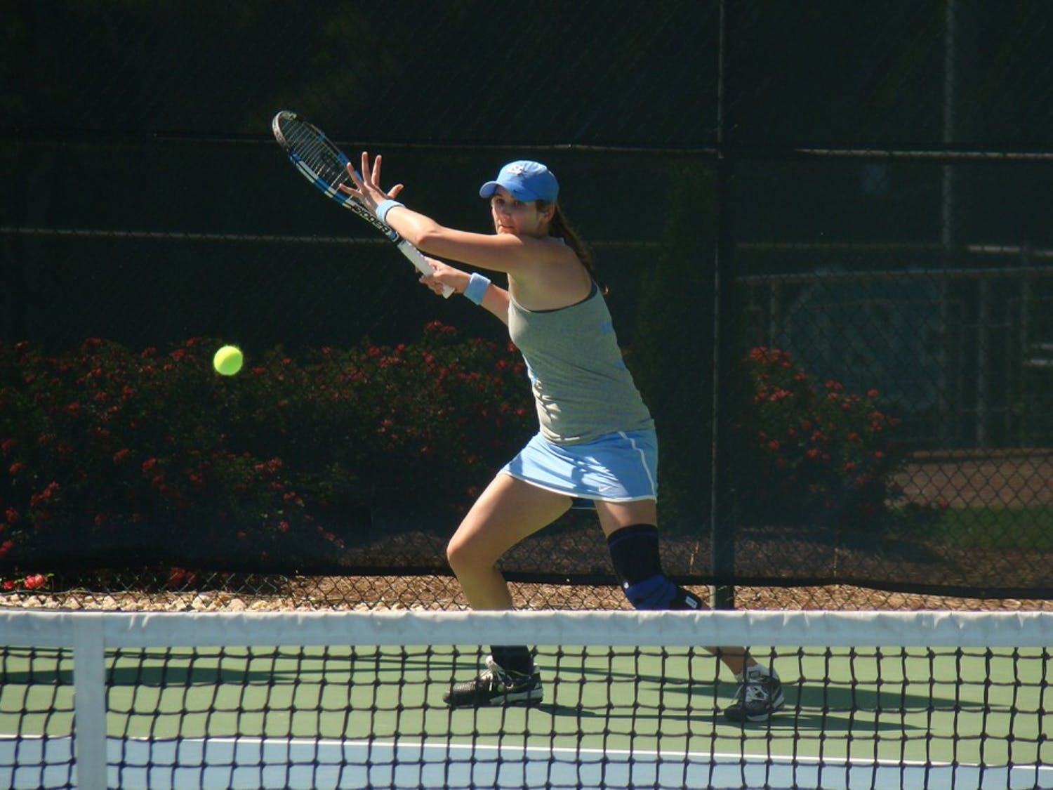 UNC women's tennis defeated Eastern Tennessee State University 4-0 on Friday, and Northwestern University 4-2 on Saturday to advance to the next round in Tulsa, OK.