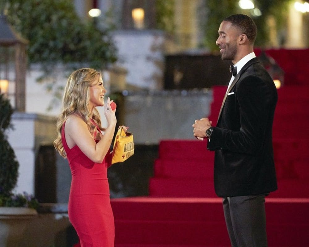 """<p>Matt James, the star of ABC's hit romance reality series """"The Bachelor,"""" will hand out the roses for its momentous 25th season. Photo courtesy of Craig Sjodin/ABC.</p>"""