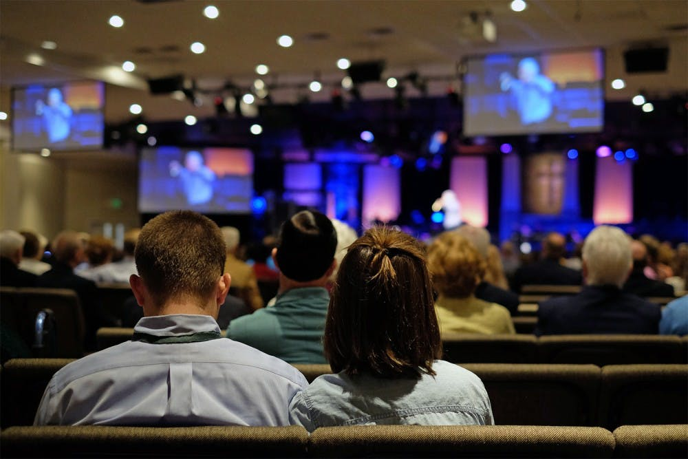 Megachurches attract youth members