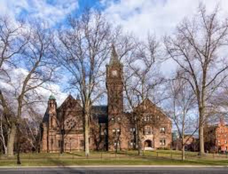 Mary Lyon Hall at Mount Holyoke College in Massachusetts. The college has a new policy that refers to the student body as students instead of women.