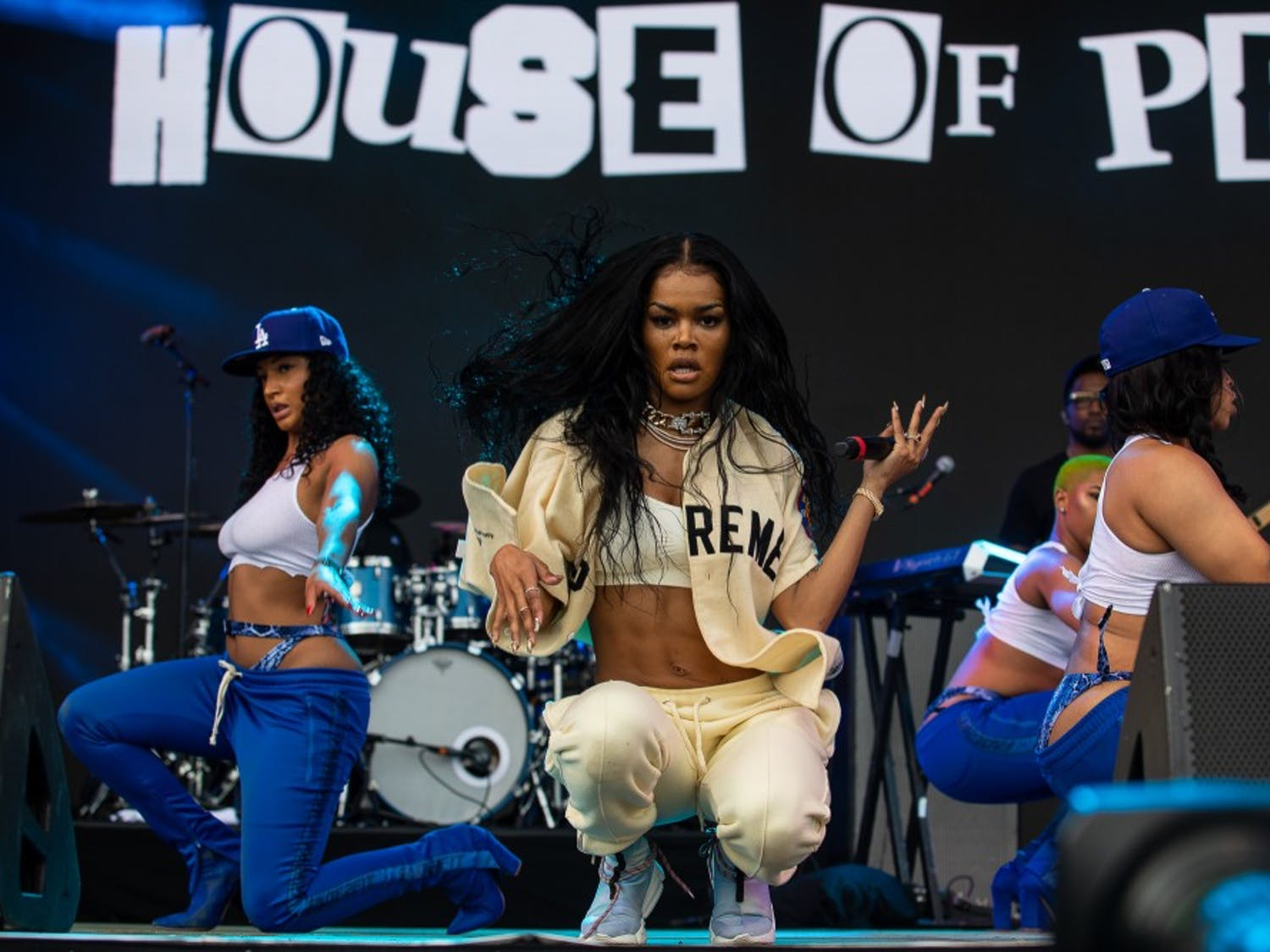 Teyana Taylor performs her set at the inaugural Dreamville Fest at Dorothea Dix Park on Saturday, April 6, 2019 in Raleigh, N.C. In its inaugural event, 40,000 people attended Dreamville after it was postponed in the fall of 2018 because of Hurricane Florence.
