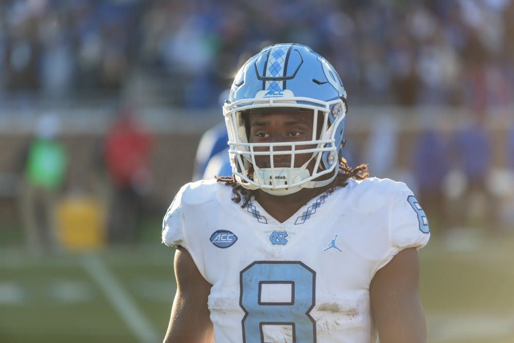 An energetic Michael Carter is set to lead UNC football by
