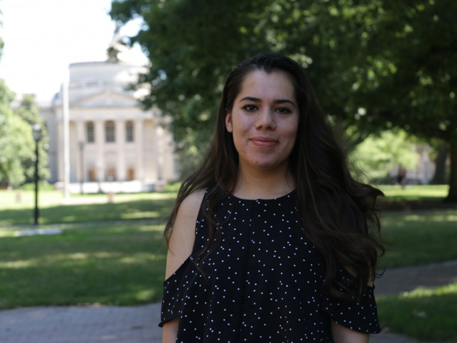 Jessica Mencia the SUIE (Students United for Immigrant Equality) Co-Chair