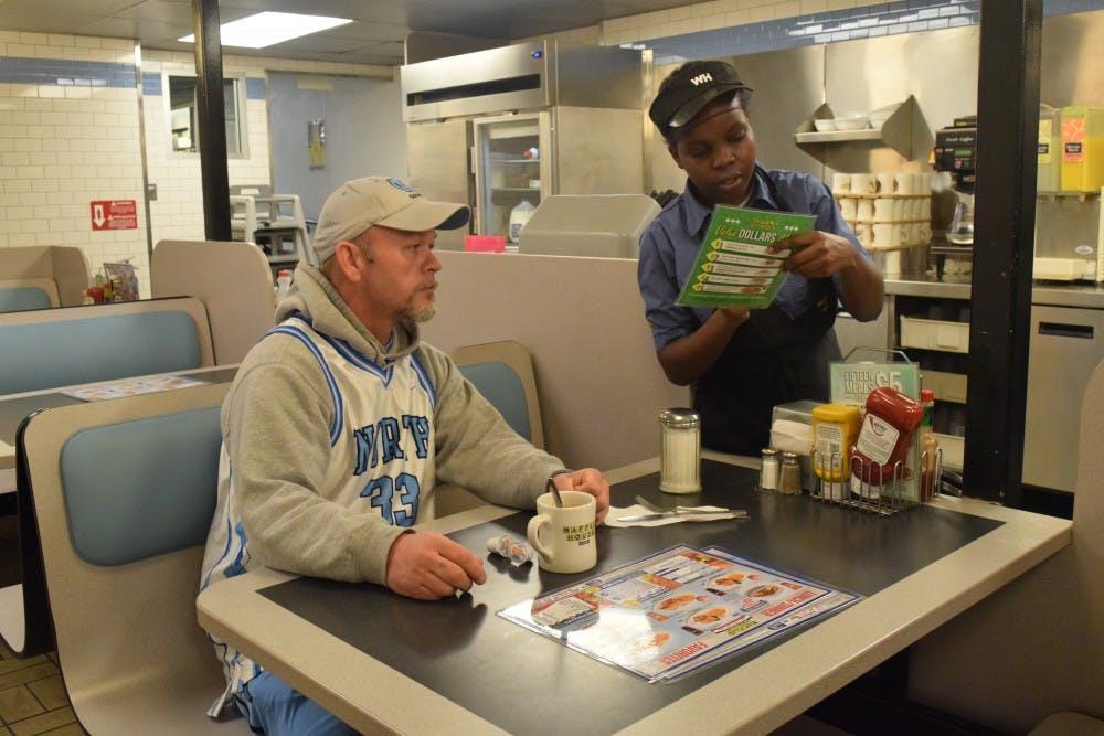 Waffle House ups UNC-Duke rivalry with free waffles