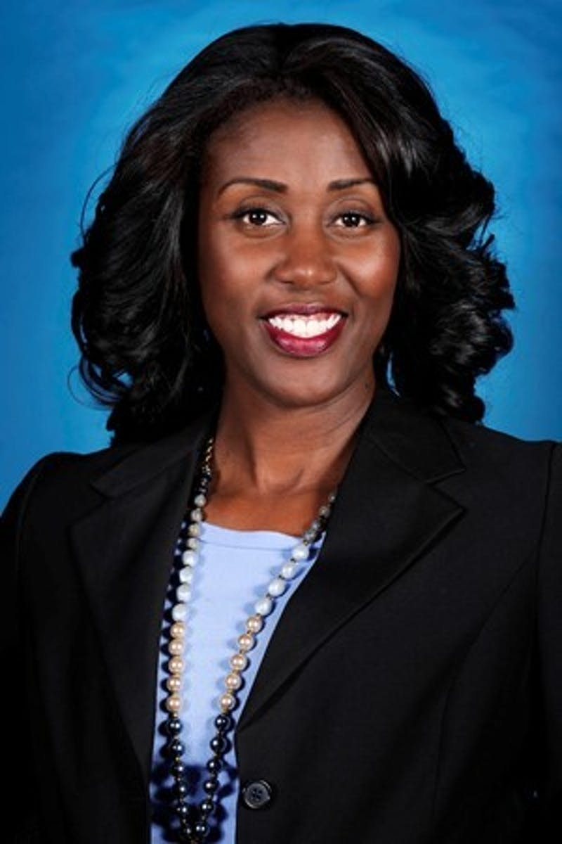 UNC women's basketball assistant coach Sylvia Crawley. Photo courtesy of UNC athletic communications.