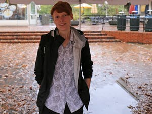 Brennan Lewis, winner of Peace First Prize, is talking about her QueerNC and her future plan.