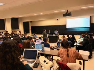 The Undergraduate Senate passes a resolution to recommend renaming Aycock Hall.