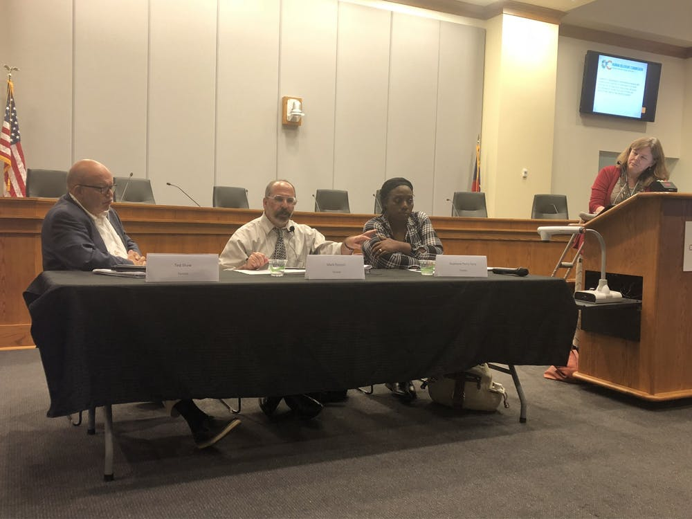 Human Relations Commission panel sparks conversation about free speech