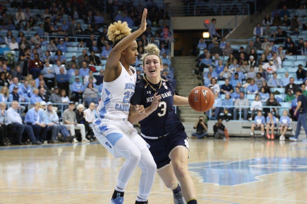 UNC women's basketball tops Georgia Tech, 91-90, following upset win over No. 1