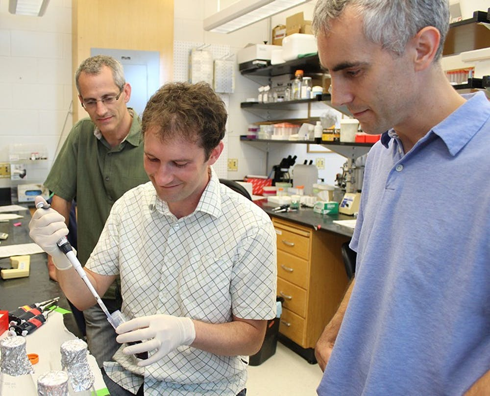 Autism Researchers left to right (Ben Philpot, Ian King, Mark Zylka)