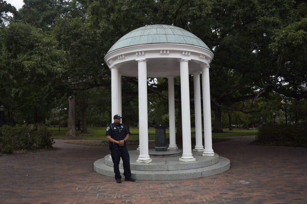 UNC Police investigating a report of sexual battery in Friday Center lot
