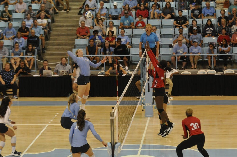 UNC falls to Miami, 3-1, in road match on Friday night