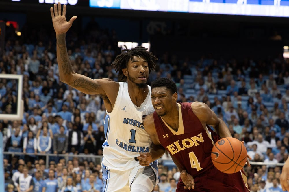 Leaky Black tightens up defense for UNC in sloppy 75-61 win over Elon