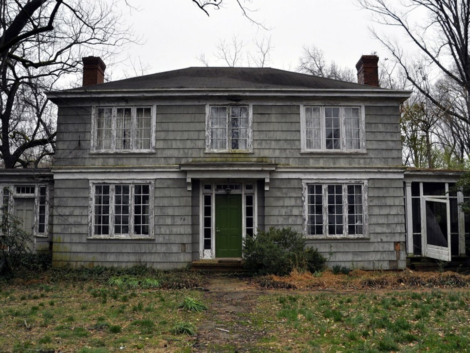 A local couple has requested permission to tear down this historic house, located at 704 Gimghoul Road, to build a new one in its place.
