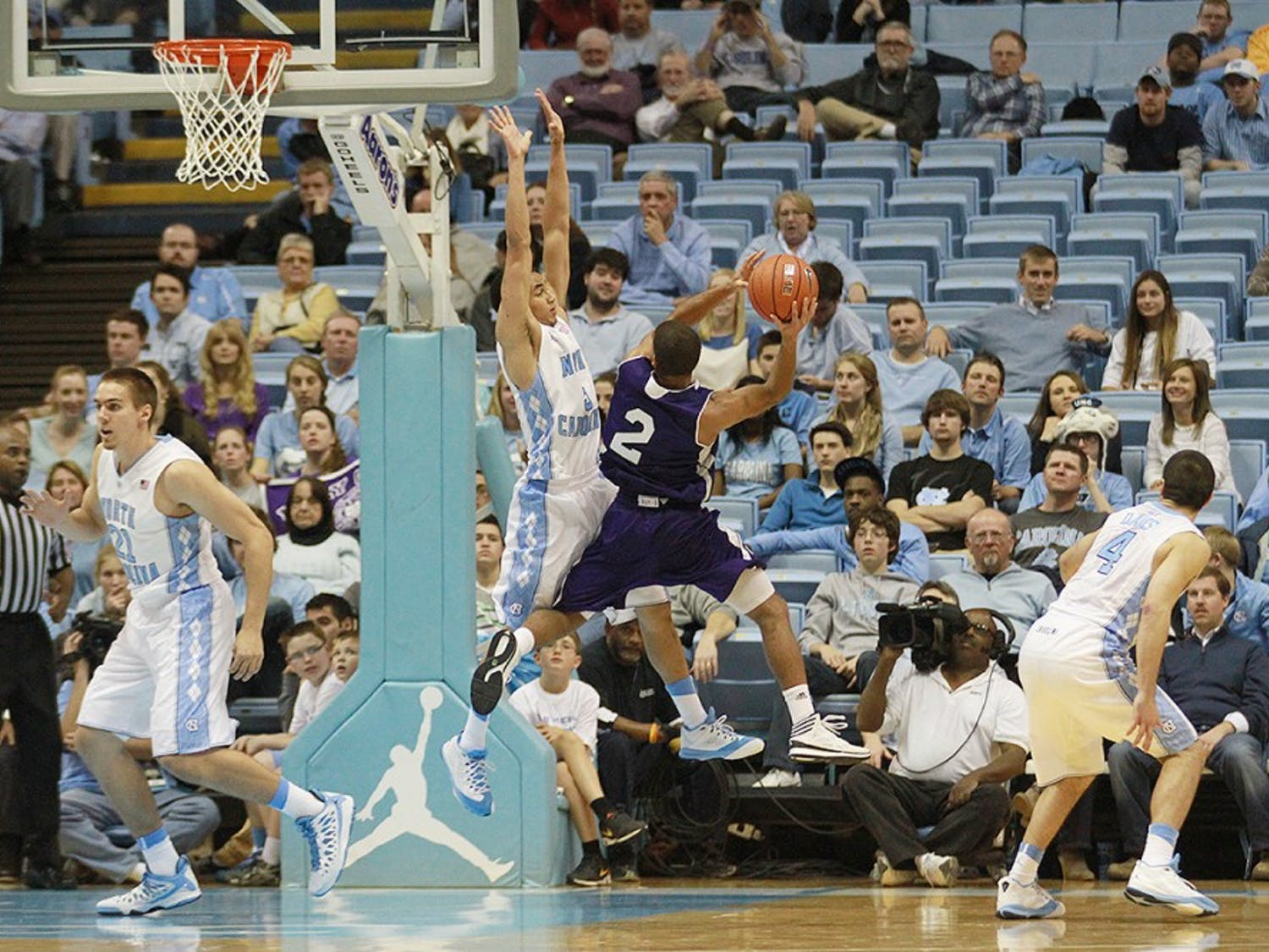 Photos from UNC Men's Basketball's game against Holy Cross on November 15th, 2013 at Dean Smith Center in Chapel Hill, N.C.