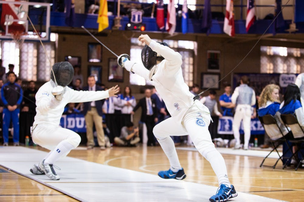 UNC fencing teams both finish third in ACC Championships