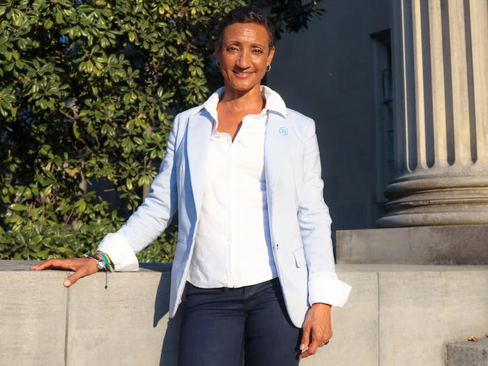 Jaci Fields was recently named the new Chair of the Carolina Black Caucus. She is pictured on Sept. 14, 2021.
