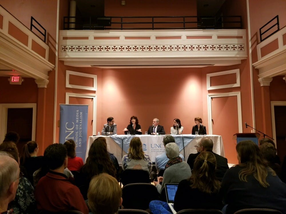 Holding power accountable: Panel of journalists discuss reporting on sexual misconduct