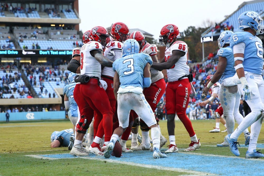 acc disagrees with fedora reprimands unc and n c state football