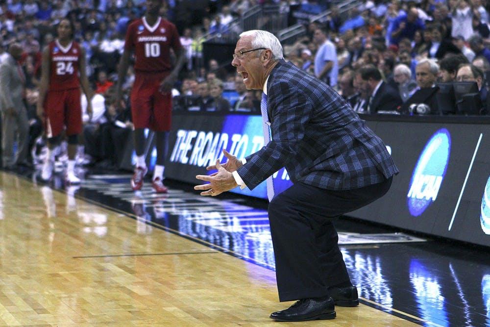 UNC men's basketball beat Arkansas to advance to Sweet 16 play