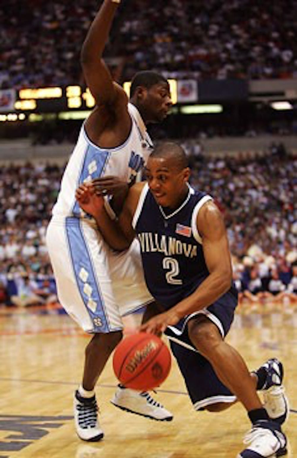 <p>Former UNC guard Jackie Manuel started in the 2005 Sweet 16 matchup with Villanova, a win he named as one of the top three or four of his career.</p>
