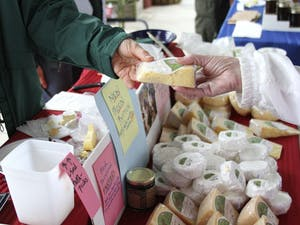 Chapel Hill Creamery has been at the Carrboro Farmer's Market for 12 years.