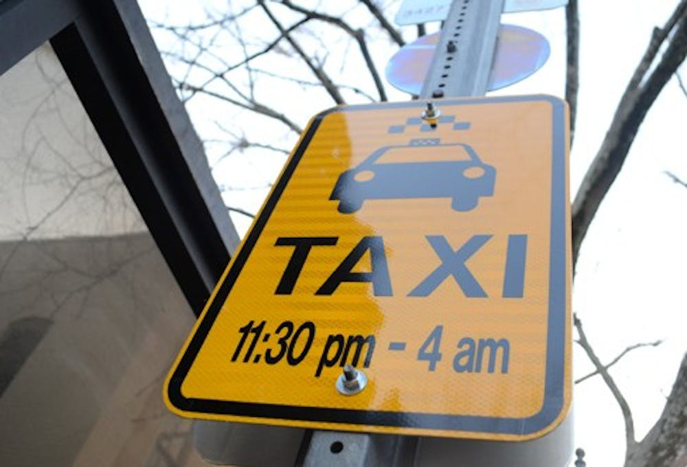<p>New taxi regulations in Chapel Hill went into effect on Jan. 1, which included a flat rate for taxis around downtown.</p>