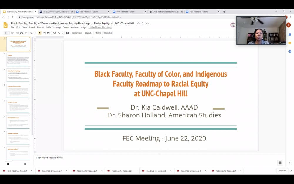 Faculty Executive Committee discusses fall semester, racial injustice at UNC