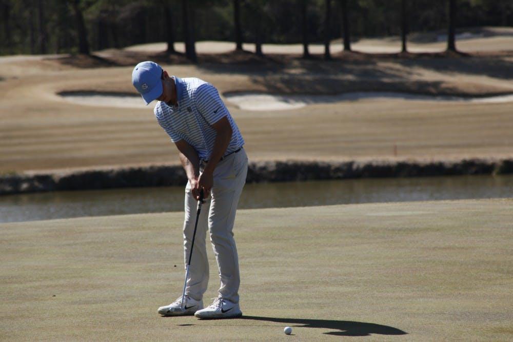 No. 23 North Carolina men's golf places 10th at ACC Championship