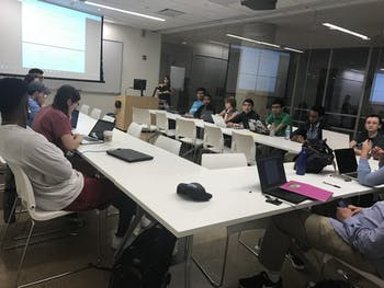 The 99th Undergraduate Student Senate met Tuesday to discuss amendments to the Student Code.