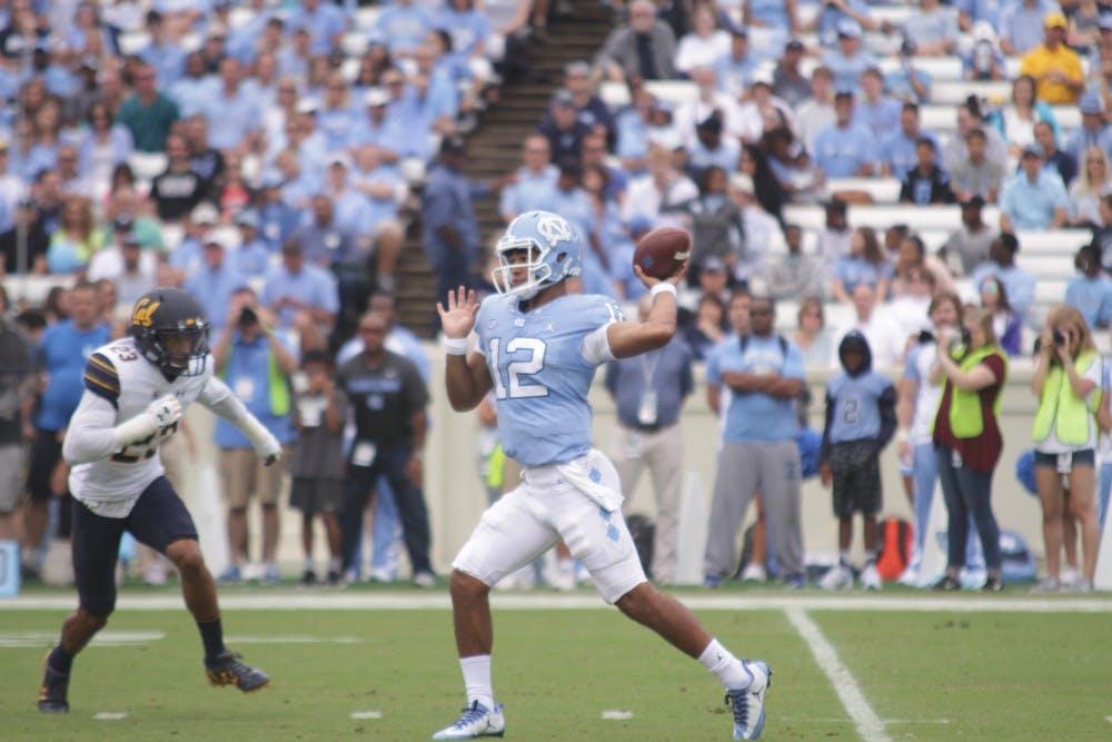 Surratt shines and Harris struggles in North Carolina's opener