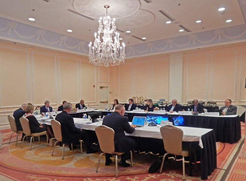 The Board of Trustees met on May 31 at the Carolina Inn.