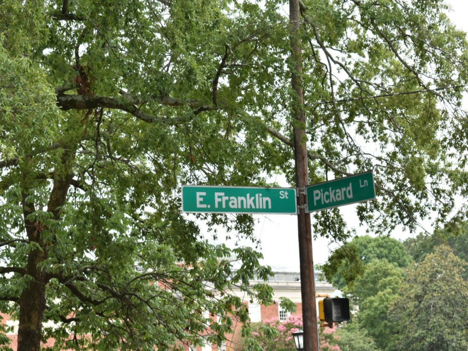 Franklin Street will be closed between Pickard Lane and S. Columbia Street between 9 p.m. July 24 and 6 a.m. July 25.