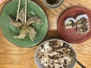 Photo of Kurama Sushi & Noodle Express meal.