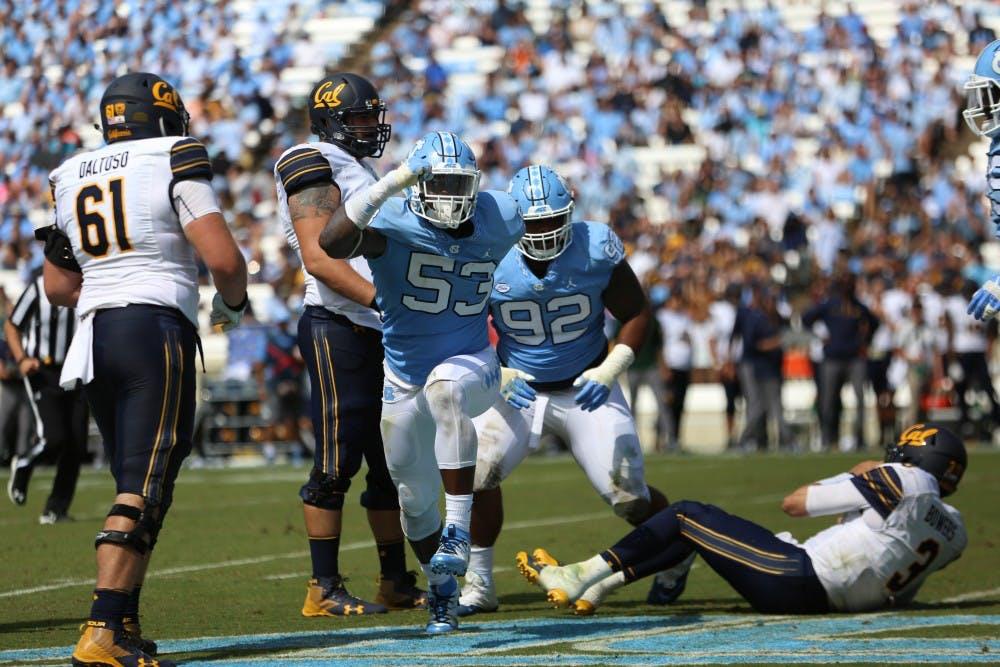 Despite first-game flop, North Carolina defense remains confident