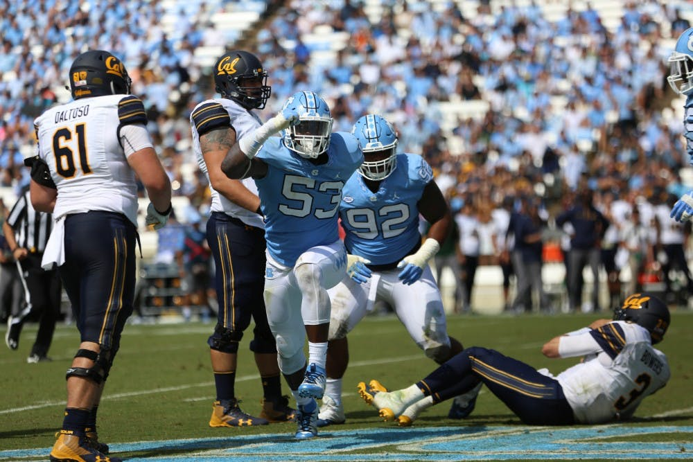 Despite first-game flop, North Carolina defense remains confident