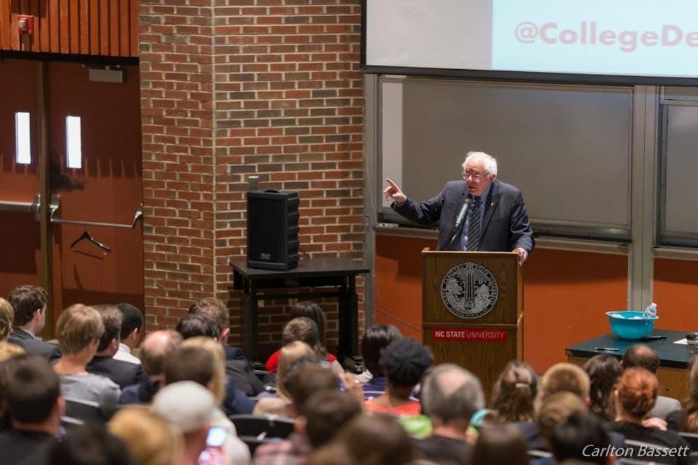 Bernie Sanders to hold economic inequality conversation at Duke
