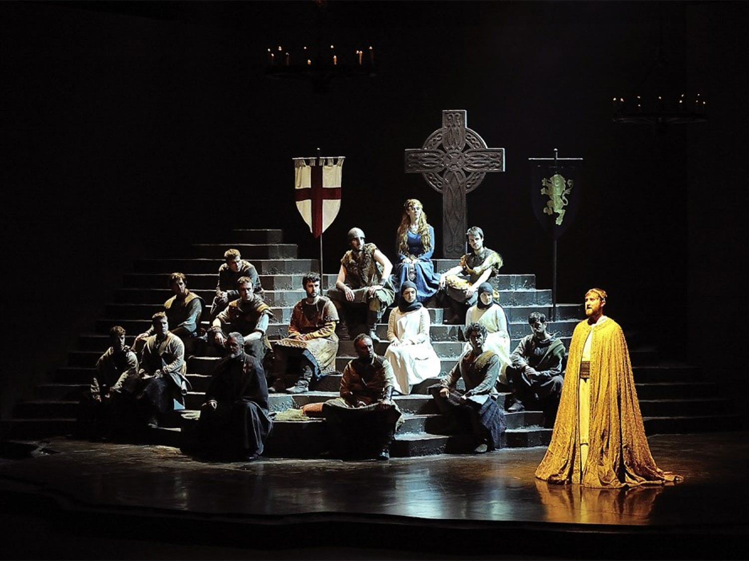 """Actors from the National Theatre of Scotland are returning to Chapel Hill again — this time to perform """"Dunsinane"""" at Memorial Hall today and Friday.Courtesy of Carolina Performing Arts."""