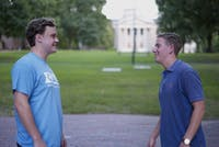 Jasper Brindis and Andrew McKinnon, creators of rateyourdorms.com. Photo courtesy of Brindis and Mckinnon.