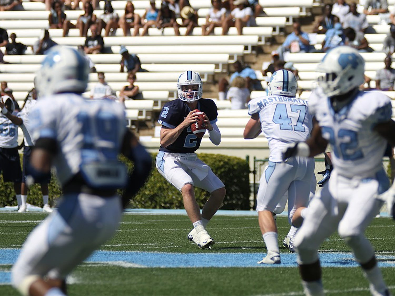 UNC Spring football game on April 13, 2013.