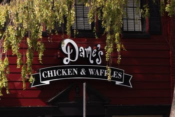Dame's Chicken & Waffles is opening a new location on E. Franklin Street where [B]skis once stood.