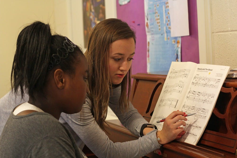 UNC's Musical Empowerment allows students to mentor youth and share their love of music
