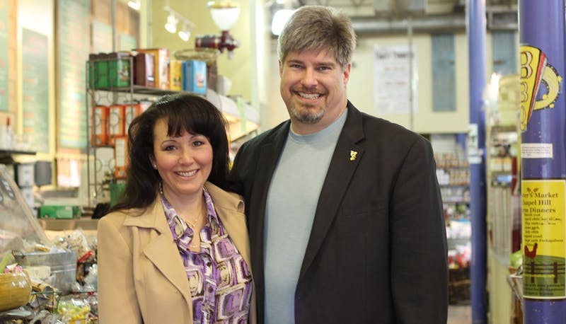 Dave Carter and Mary Lopez-Carter are running for the N.C. Senate and House.