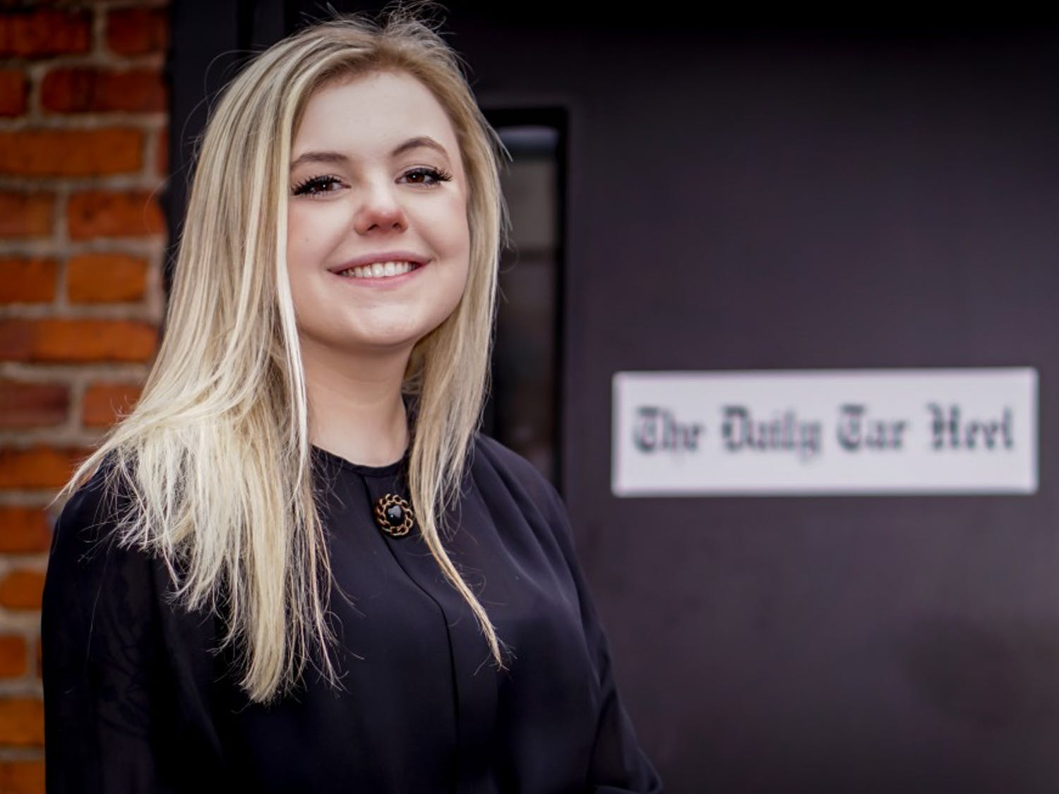 Maddy Arrowood, junior journalism and American history double major, is selected as The Daily Tar Heel editor-in-chief for 2019-2020  on Saturday, April 6, 2019. Arrowood plans to bring The Daily Tar Heel into the digtal age with a focus with online content.